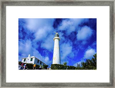 Gibbs Hill Lighthouse Framed Print