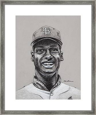 Gibby Framed Print by Jim Wetherington