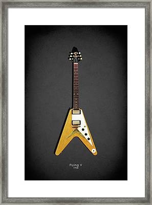 Gibson Flying V Framed Print
