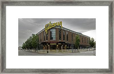 Gibson Guitar Factory Memphis Tennessee Framed Print