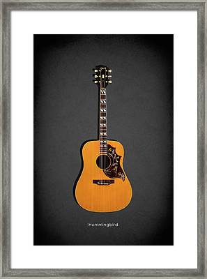 Gibson Hummingbird 1968 Framed Print by Mark Rogan