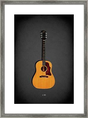 Gibson J-50 1967 Framed Print