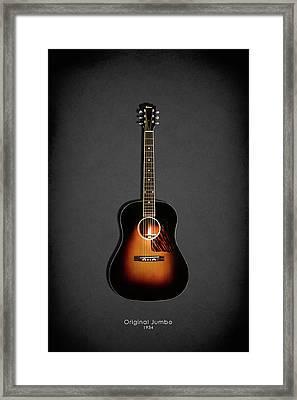 Gibson Original Jumbo 1934 Framed Print