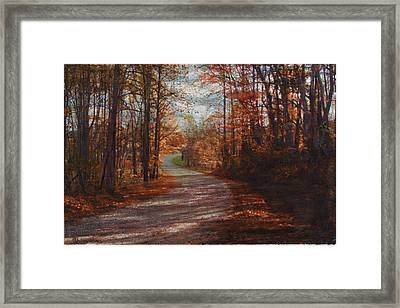 Gibson Ridge Road Framed Print