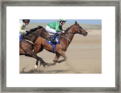 Giddy Up Framed Print by Marion Galt