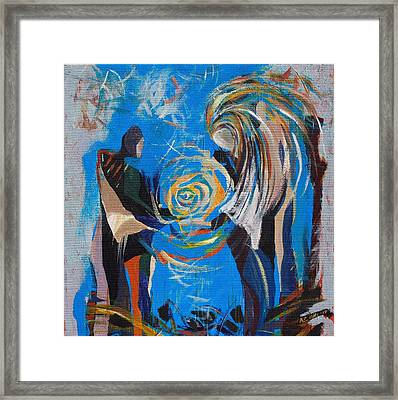 Gift Framed Print by Andrada Ionescu