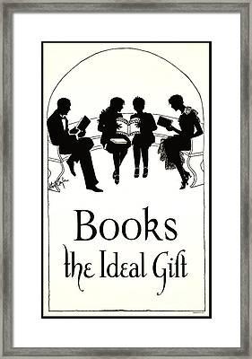 Gift Books 1920 Framed Print