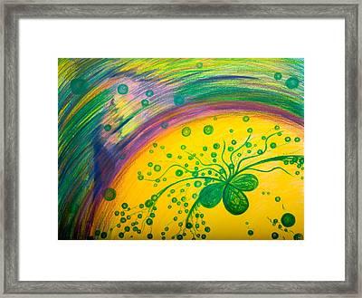 Gift Framed Print by Elena Soldatkina
