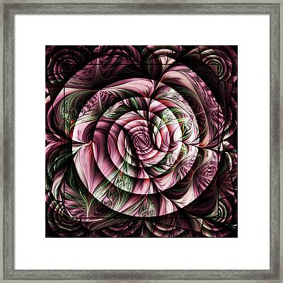 Gift For A Lady Abstract Framed Print by Georgiana Romanovna