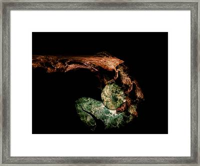 Gift From A Dead Hand Framed Print by Bear Welch