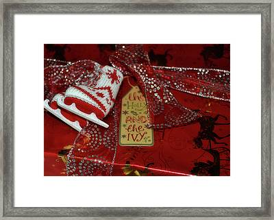Gift Giving Framed Print by JAMART Photography