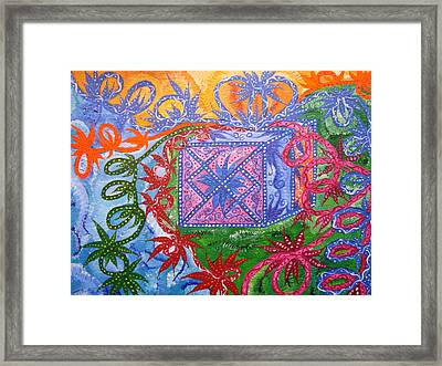 Gift Framed Print by Joanna Pilatowicz