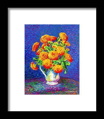 Cut Flowers Framed Prints