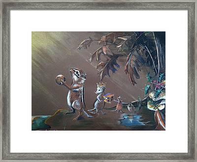 Gift Of The Magi Framed Print