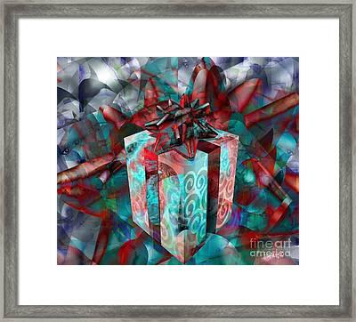 Gifts For Street Kids International Framed Print by Fania Simon
