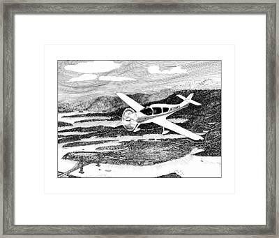 Gig Harbor Flyover Framed Print by Jack Pumphrey