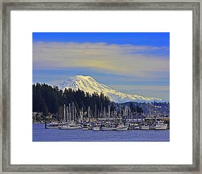 Gig Harbor Framed Print by Jack Moskovita