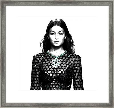 Gigi Catwalk Framed Print