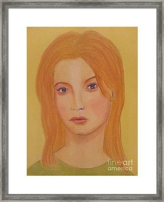 Gigi Framed Print