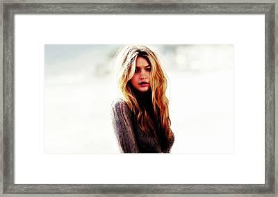 Gigi Upward Bound Framed Print