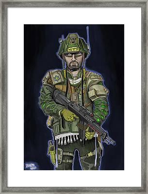 G.i.jew Framed Print