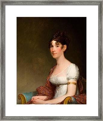 Gilbert Stuart Framed Print by Harrison Gray Otis