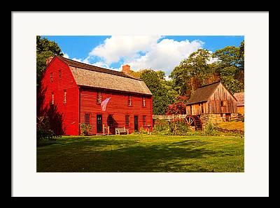 Old Mill Scenes Framed Prints