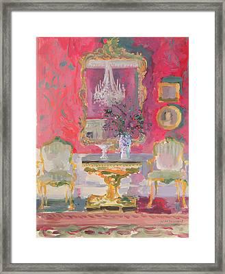 Gilded Mirror Framed Print by William Ireland