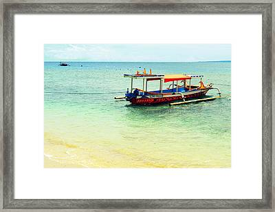 Gili Air Framed Print