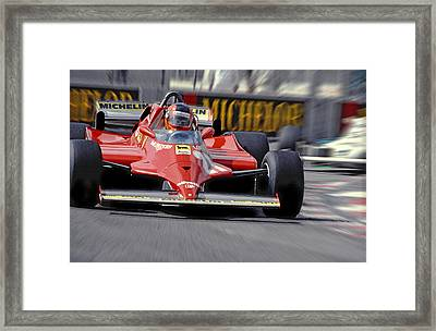 Gilles At Long Beach Framed Print