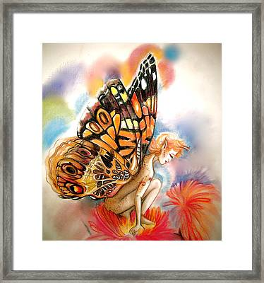 Gillyflower Framed Print by L Lauter