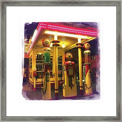 Gilmore Station Framed Print