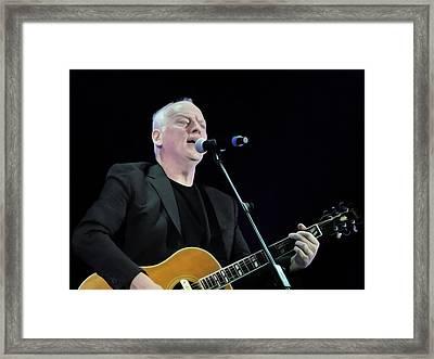 Gilmour #023 By Nixo Framed Print