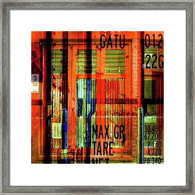 Framed Print featuring the photograph Gimmie A Sign by Wayne Sherriff
