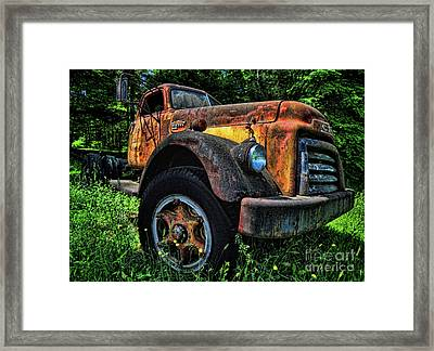 Jimmy Diesel Framed Print