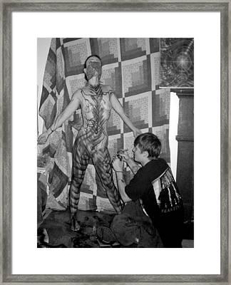 Gina Framed Print by Leigh Odom