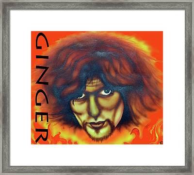 Ginger Baker Framed Print