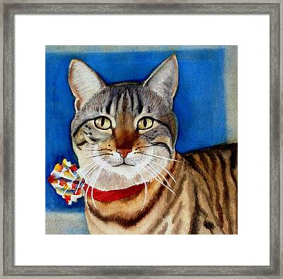 Ginger Framed Print by Marilyn Jacobson