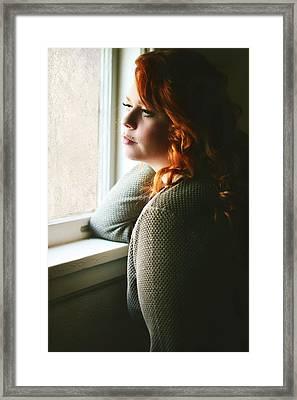 Ginger  Framed Print by Pamela Patch