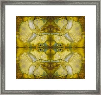 Gingko Quad Framed Print by Joye Ardyn Durham