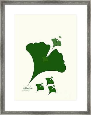 Ginkgo M1 Framed Print