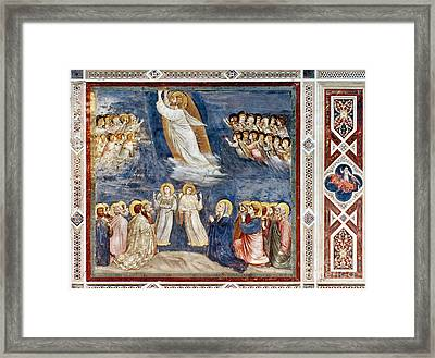Giotto: Ascension Framed Print