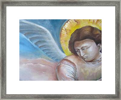 Giotto's Angel Of Epiphany Framed Print