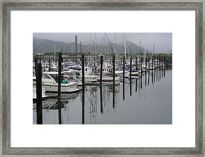 Girabaldi Marina Dm 1005 Framed Print by Mary Gaines