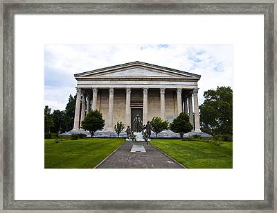 Girard College Philadelphia Framed Print by Bill Cannon