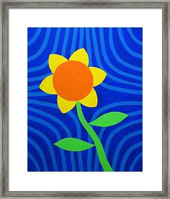 Girasol Framed Print