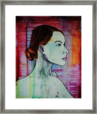 Girl 15 Framed Print