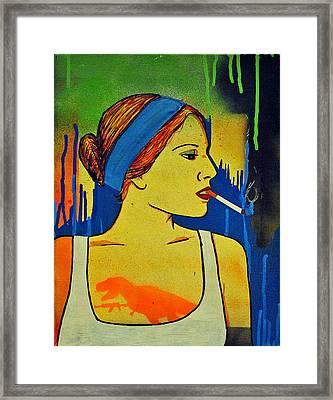 Girl 19 Framed Print