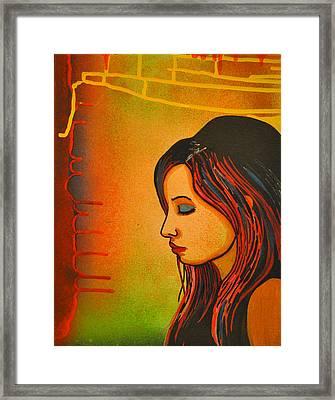 Girl 20 Framed Print