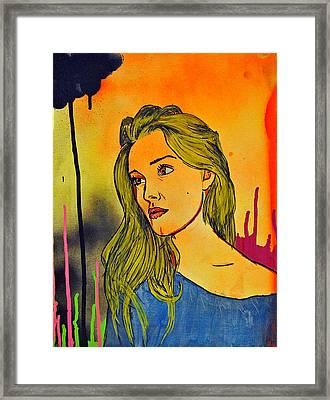 Girl 21 Framed Print